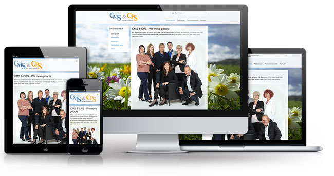 Ressponsive Website cms-cps.de