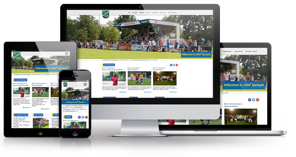 Ressponsive Website SV Todesfelde